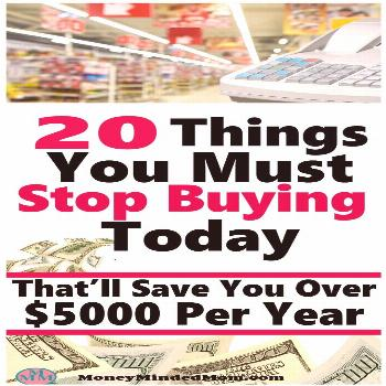 20 Things You Must Stop Buying Today ~ There are many things that we spend money on week after week