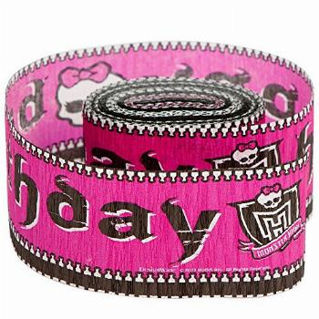 Freaky Fab Monster High Birthday Party Crepe Streamers