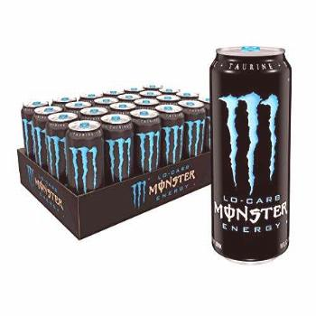 Monster Energy, Lo-Carb Monster, Low Carb Energy Drink, 16