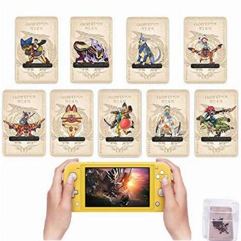 Monster Hunter Rise Amiibo Cards MH Rise NFC Mini Card with