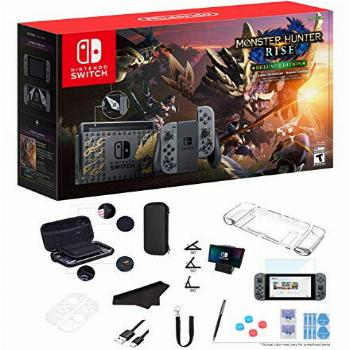 Newest Nintendo Switch Monster Hunter Rise Deluxe Edition