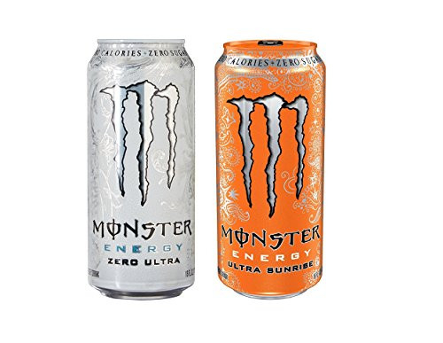 Monster Energy Ultra 2 Flavor Variety Pack, 16 Ounce Cans